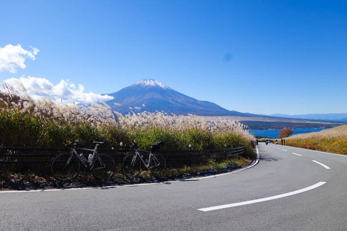 富士山の右上に見える黒い点がそう。天気がいい、絶好の風景に限ってこうなる・・・(><)