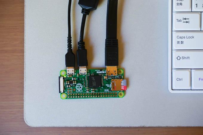 もっと小さいモデルもあります(Raspberry Pi Zero、600円)