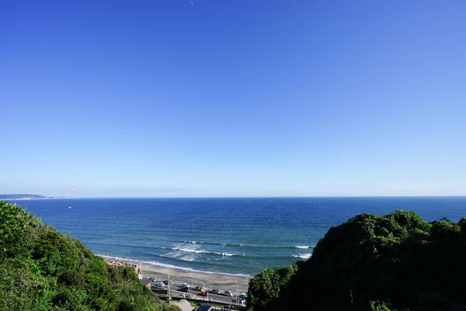 見通しがいい時は、遠くに大島まで見えます。素敵な場所です。