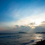 久しぶりの夕方海辺ライド