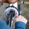 人生初の自転車作業成功!(リング錠取り付け)