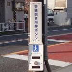 [つぶやき] 「交通弱者用押ボタン」ってどんなボタンなの?