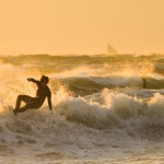 2015年の初海岸ポタは超暴風・・・