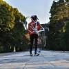 鶴岡八幡宮の河津桜が満開ですヨ(^^)