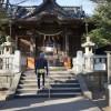 逗子のカメさん神社、亀岡八幡宮へ(^^)